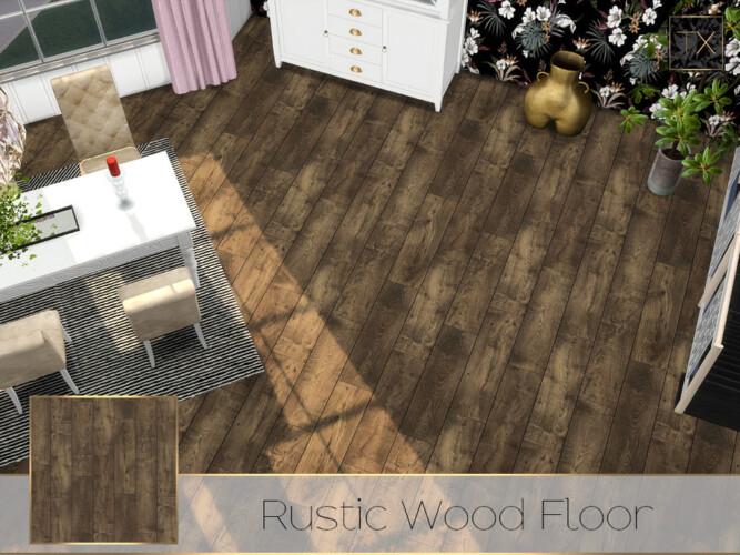 Tx Rustic Wood Floor By Theeaax