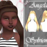 Angela Hairstyle (child) By Sylviemy