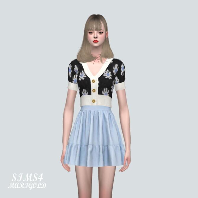 Sims 4 Mini Cardigan With G Skirt at Marigold