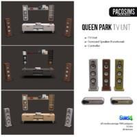 Queen Park Tv Unit & Surround System (p)