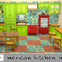 Mexican Kitchen Set By So87g