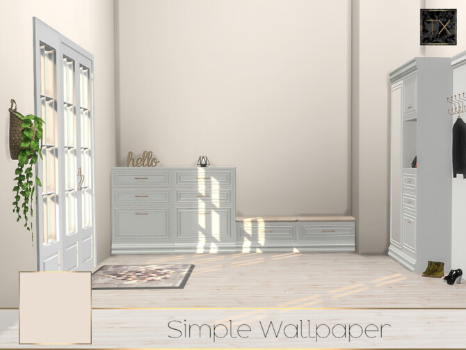 Sims 4 TX Simple Wallpaper set by theeaax at TSR