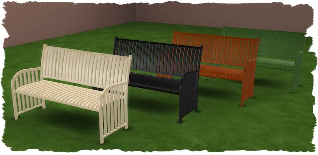 Sims 4 Visa garden set by Chalipo at All 4 Sims