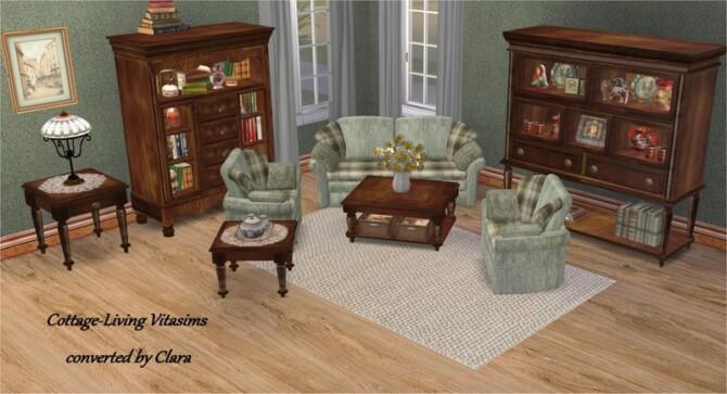 Vitasims Cottage Livingroom Conversion By Clara