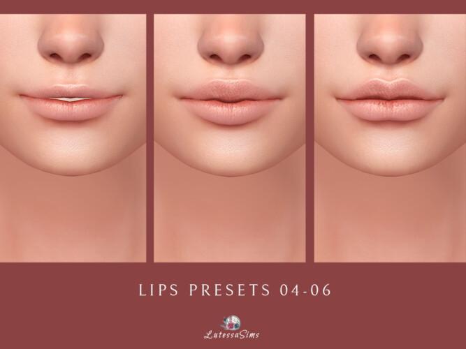 Lips Presets 04-06
