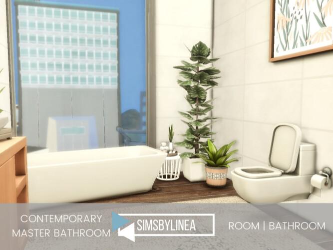 Contemporary Master Bathroom By Simsbylinea