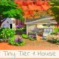 Tiny Tier 1 House By Simmer_adelaina