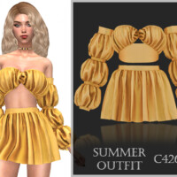 Summer Outfit C426 By Turksimmer