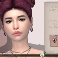 Alien Earrings By Playerswonderland
