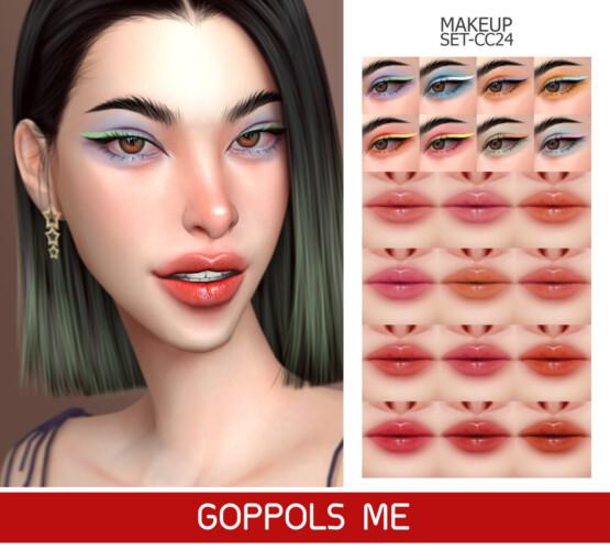 Gpme-gold Makeup Set Cc24