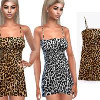 Super Mini Leopard Dresses By Saliwa