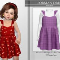 Forman Dress By Katpurpura