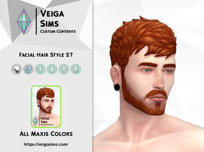 Facial Hair Style 27 By David_mtv