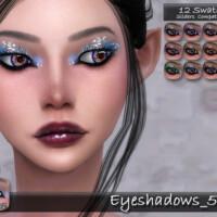 Eyeshadows 52 By Tatygagg