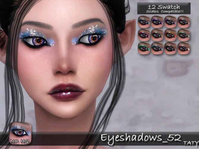 Sims 4 Eyeshadows 52 by tatygagg at TSR