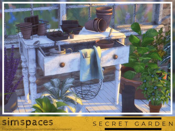 Secret Garden Potting Set By Simspaces