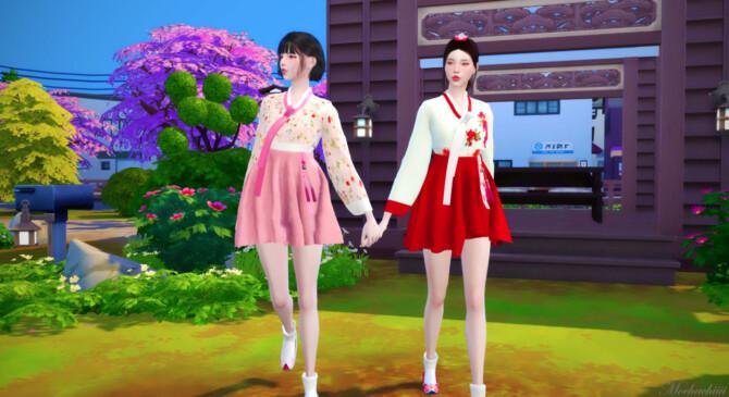 Sims 4 Modern Hanbok at Mochachiii