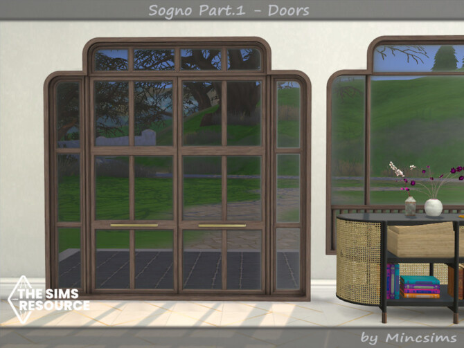 Sims 4 Sogno Part.1 Doors by Mincsims at TSR