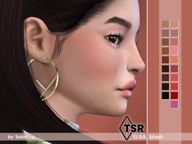Sims 4 Blush Elsa by soloriya at TSR