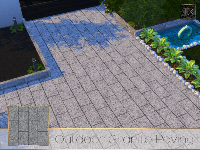 Outdoor Granite Paving Tx By Theeaax