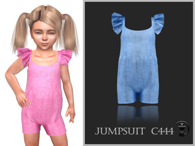 Sims 4 Jumpsuit C444 by turksimmer at TSR