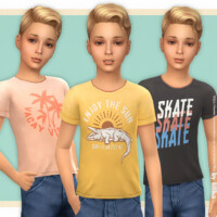 T-shirt Collection For Boys P22 By Lillka