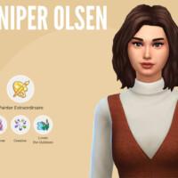 Juniper Olsen By Mini Simmer