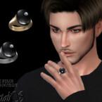 Mens Signet Onyx Ring By Natalis