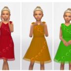 Girl's Dress 0530 By Erinaok