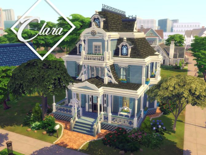 Sims 4 Clara home by GenkaiHaretsu at TSR