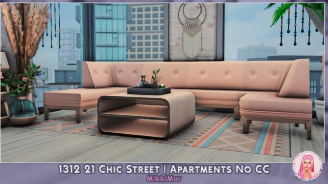 Sims 4 1312 21 Chic Street apartments at MikkiMur