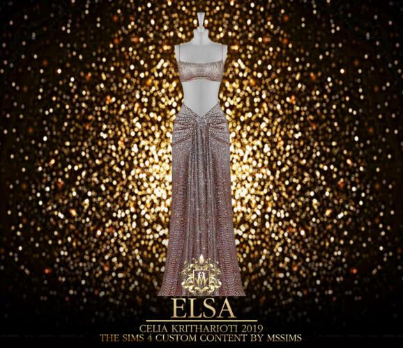 Elsa 2019 Gown