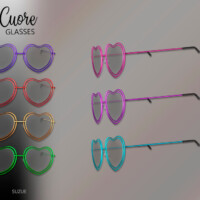 Cuore Glasses Toddler By Suzue