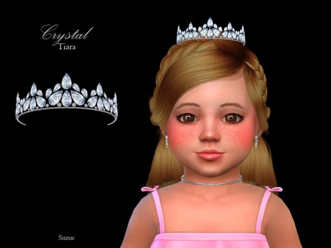 Crystal Tiara Toddler By Suzue