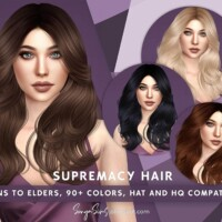 Supremacy Hair By Sonyasimscc