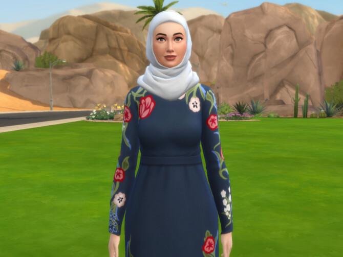 Sims 4 Salma Minhas by Mini Simmer at TSR