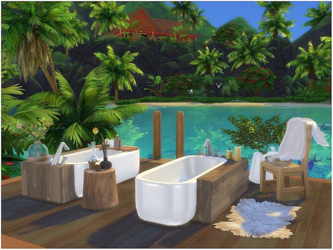 Sims 4 Romantic Bath by lotsbymanal at TSR