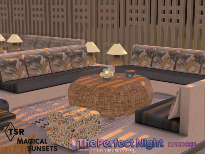 Sims 4 The Perfect Night Magical sunsets by kardofe at TSR