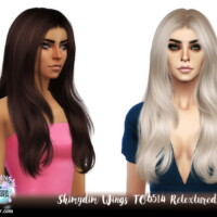 Wings To0514 Hair Retexture