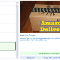 Amazon Driver By Simsstories13