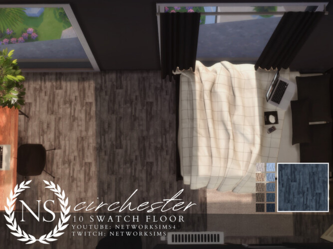 Circhester Wooden Floor By Networksims