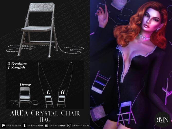 Sims 4 AREA Crystal Chair Bag at MURPHY
