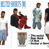 Sp08 Belted Shorts (m)