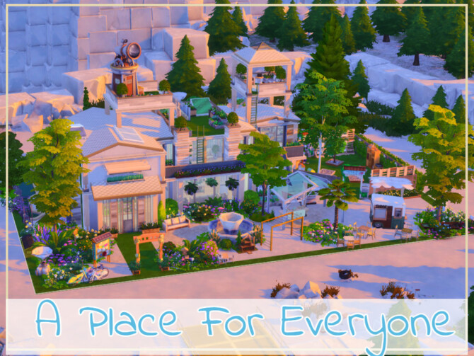 Sims 4 A Place For Everyone by simmer adelaina at TSR