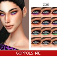 Gpme-gold Eyeshadow Cc 08