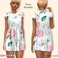 Dress Floraella By Mahocreations