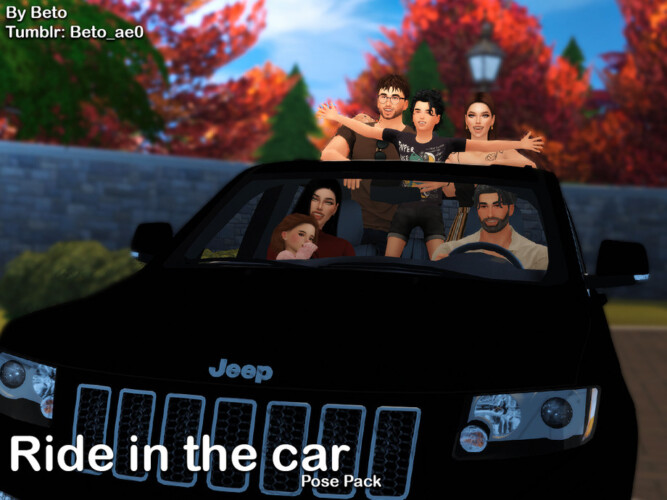 Ride In The Car (pose Pack) By Beto_ae0