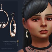 Simone Earrings Kids Version By Sugar Owl