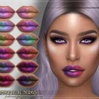 Frs Lipstick N265 By Fashionroyaltysims