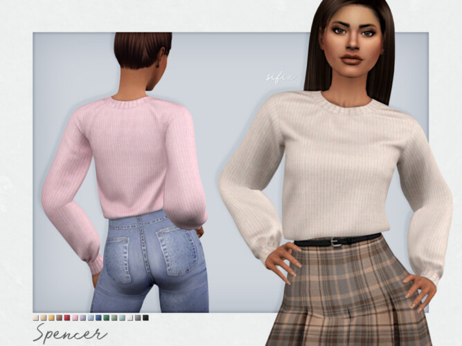 Spencer Sweater By Sifix
